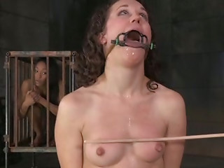 BDSM,Spanking,Brunette,Sex Toys,Small Tits,Slut,Shaved