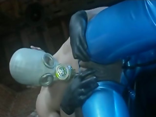 Masked,Lesbian,Girlfriend,Slut,Big Cock,Black and Ebony,Blowjob,Fingering,Handjob,Latex