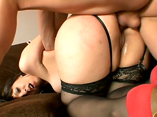 Doggystyle,Stockings,Slut,Blowjob,Brunette,Hardcore