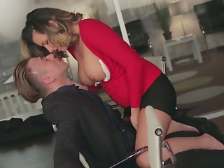 Office,Big Ass,Babe,Big Boobs,Blonde,Blowjob,Brunette,MILF,Beautiful