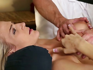 Massage,Oiled,Big Ass,Big Boobs,Big Cock,Blonde,Blowjob,Natural,Beautiful